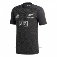 Camiseta Nueva Zelandia All Blacks Rugby 2018 Gris