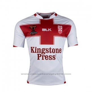 Camiseta Inglaterra Rugby RLWC 2017 Local