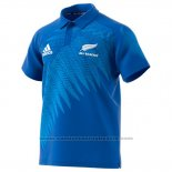 Camiseta Nueva Zelandia All Black Rugby RWC 2019 Azul