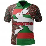 Camiseta Polo South Sydney Rabbitohs Rugby 2021 Indigena