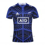 Camiseta Nueva Zelandia All Blacks Rugby Azul