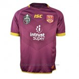 Camiseta Queensland Maroons Rugby 2018 Brown