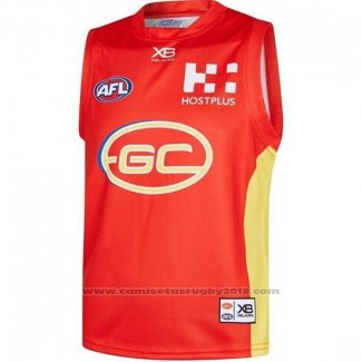 Camiseta Gold Coast Suns AFL 2019 Rojo