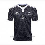 Camiseta Nueva Zelandia All Blacks Maori Rugby 100th Conmemorative