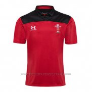 Camiseta Polo Gales Rugby 2019-2020 Rojo