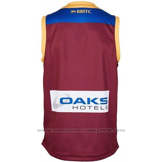 Camiseta Brisbane Lions AFL 2019 Brown